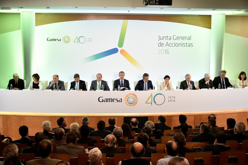 JUNTA GENERAL DE ACCIONISTAS GAMESA_2016