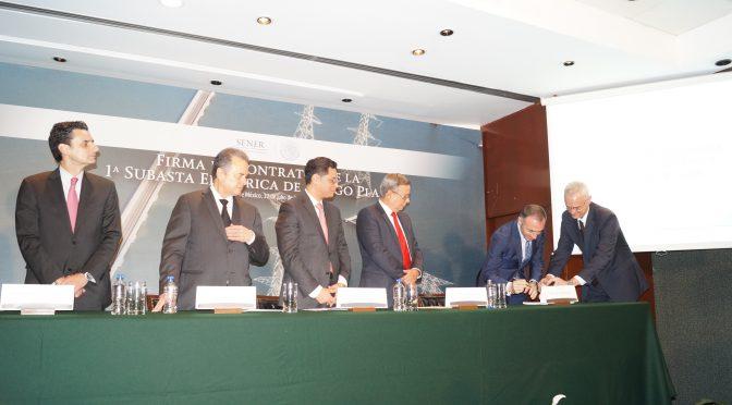 Acciona Energía ha firmado con la CFE de México su primer contrato de energías renovables