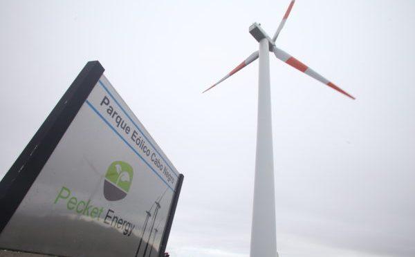 Eólica en Chile: parque eólico en Cabo Negro