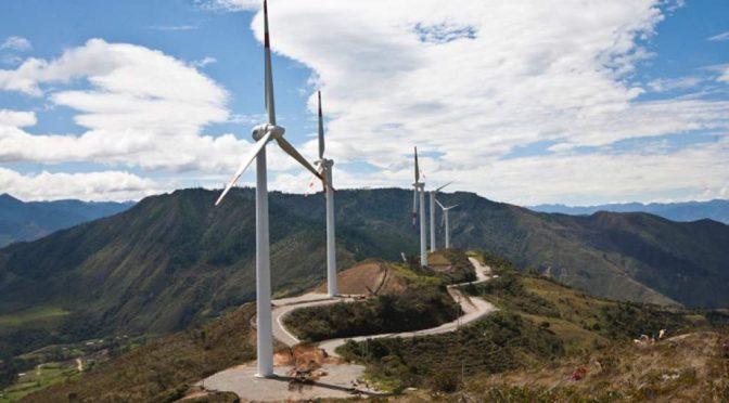 La central eólica Villonaco produjo 5.604 horas al año