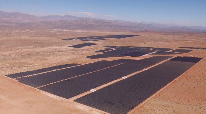 Acciona conecta una fotovoltaica de 246 MWp en Chile