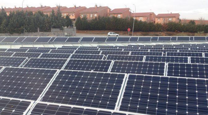 Instalan central fotovoltaica en Madrid