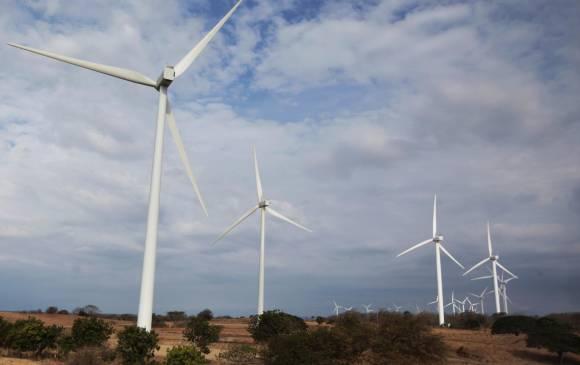 Eólica en Colombia Parque eólico de Galerazamba