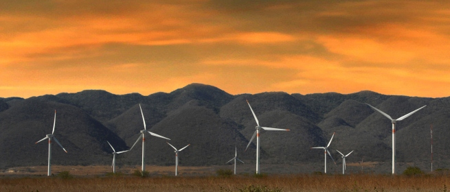 Eólica en México: parque Eólico en Acuña
