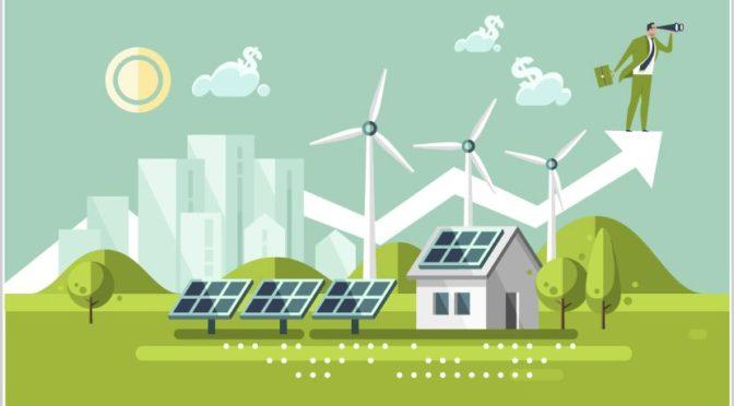 Energías renovables en el mundo, más con menos dinero