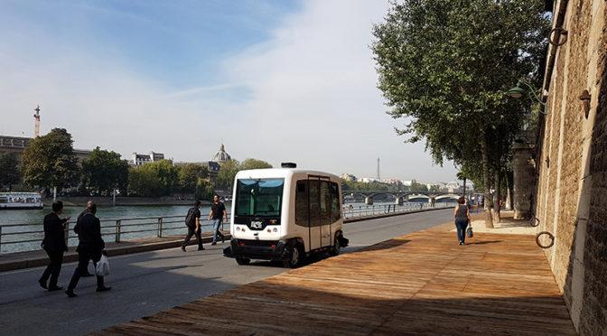 Alstom invierte en EasyMile, una startup dedicada a vehículos eléctricos