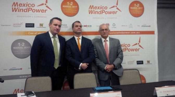 México Wind Power analizará el desarrollo de la eólica