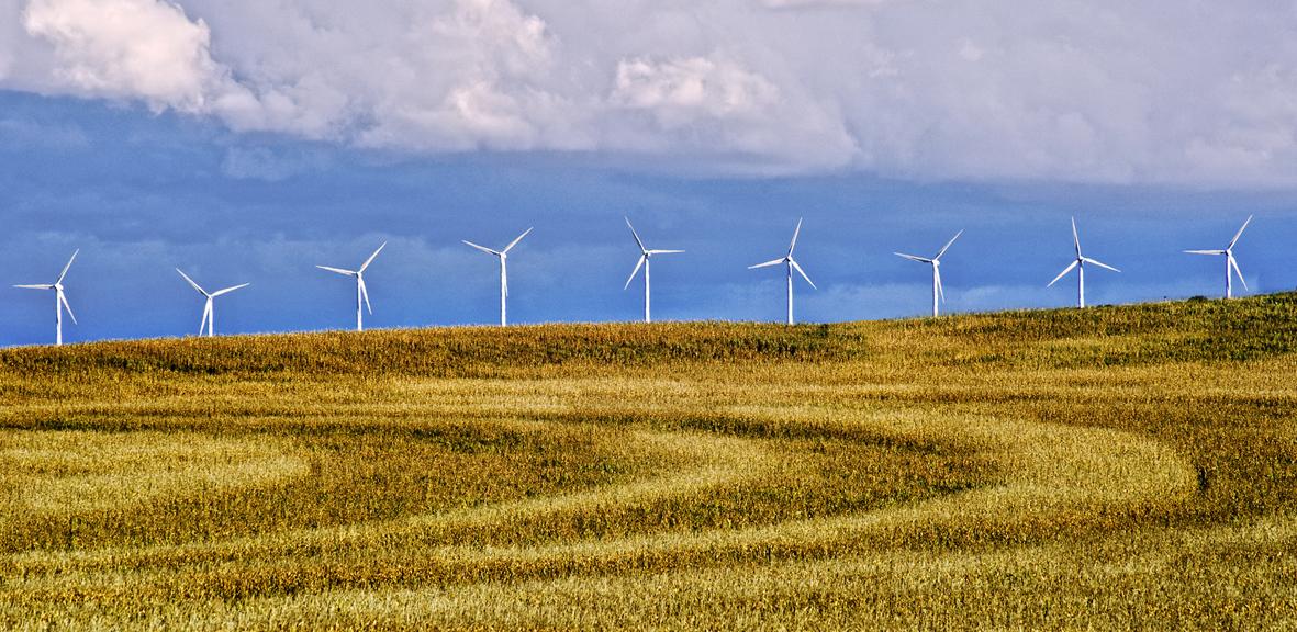 La eólica se sitúa por primera vez como la primera fuente de electricidad
