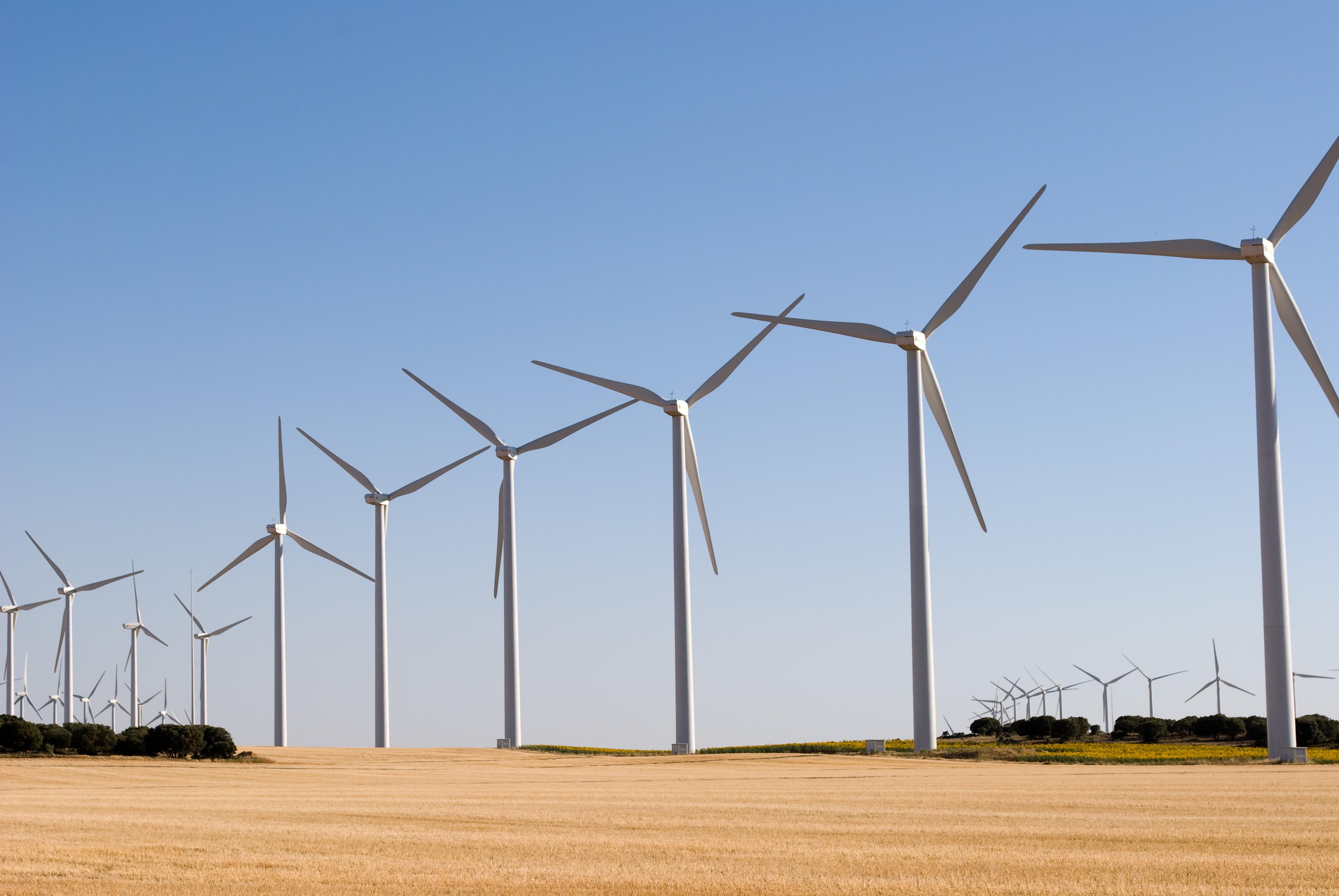 Eólica en Bolivia: parque eólico con aerogeneradores chinos