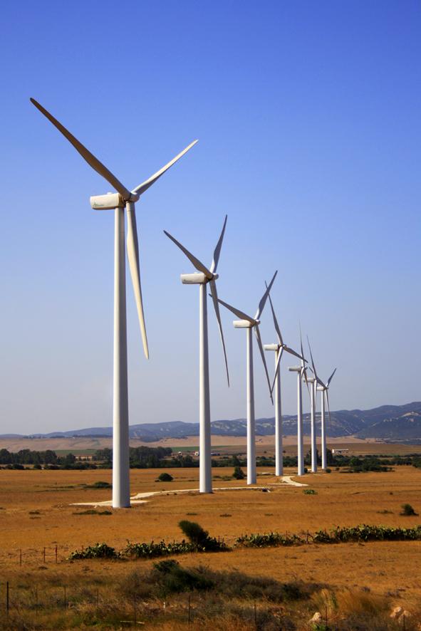 Energías renovables en Ucrania: parque eólico de Botievska