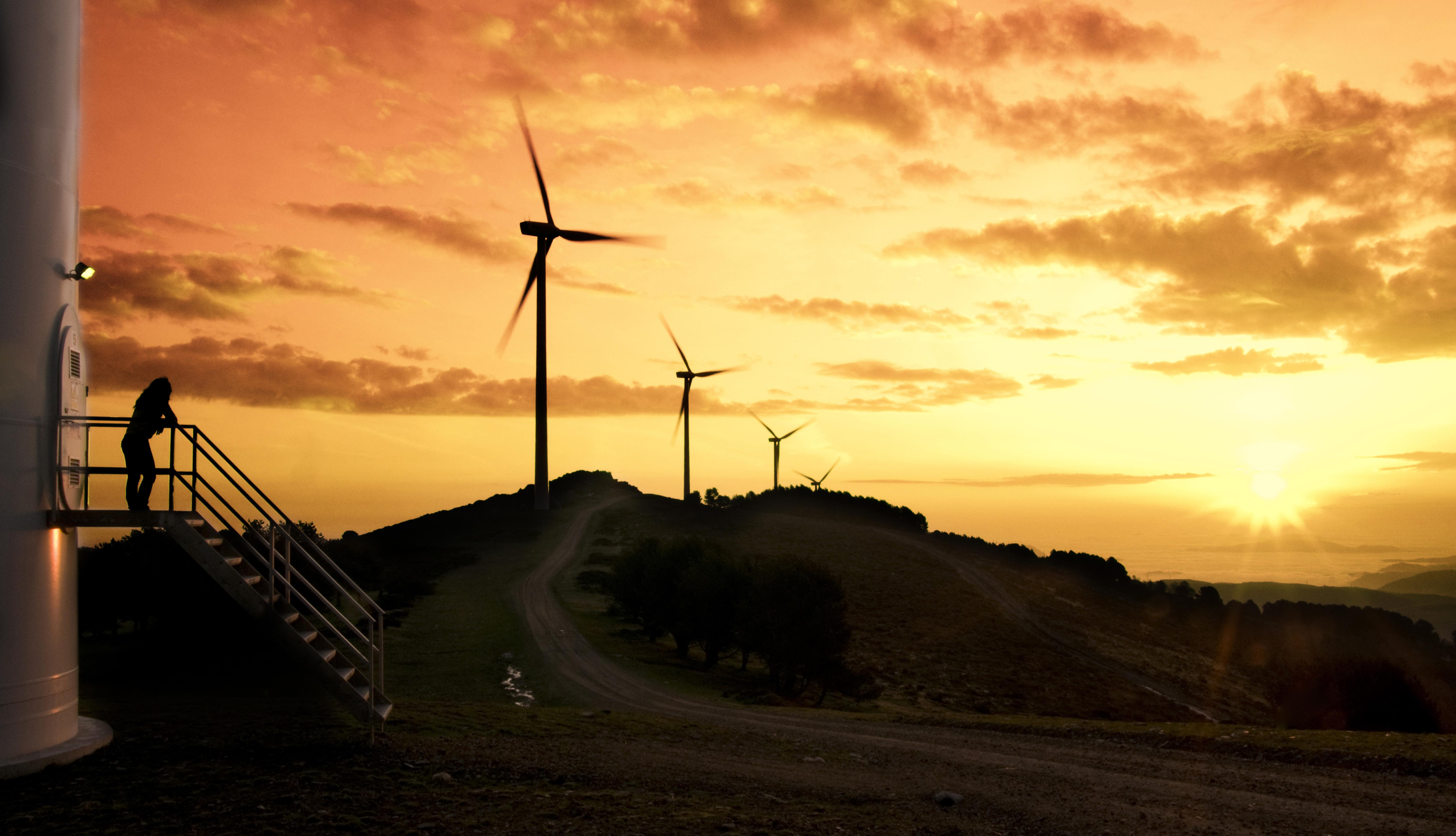 La eólica bate un nuevo récord al aportar el 64% de la electricidad