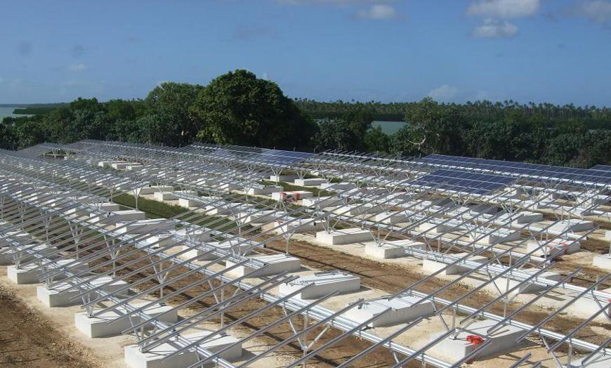 Conergy suministra estructuras para el primer parque de energía solar fotovoltaica del Pacífico Sur