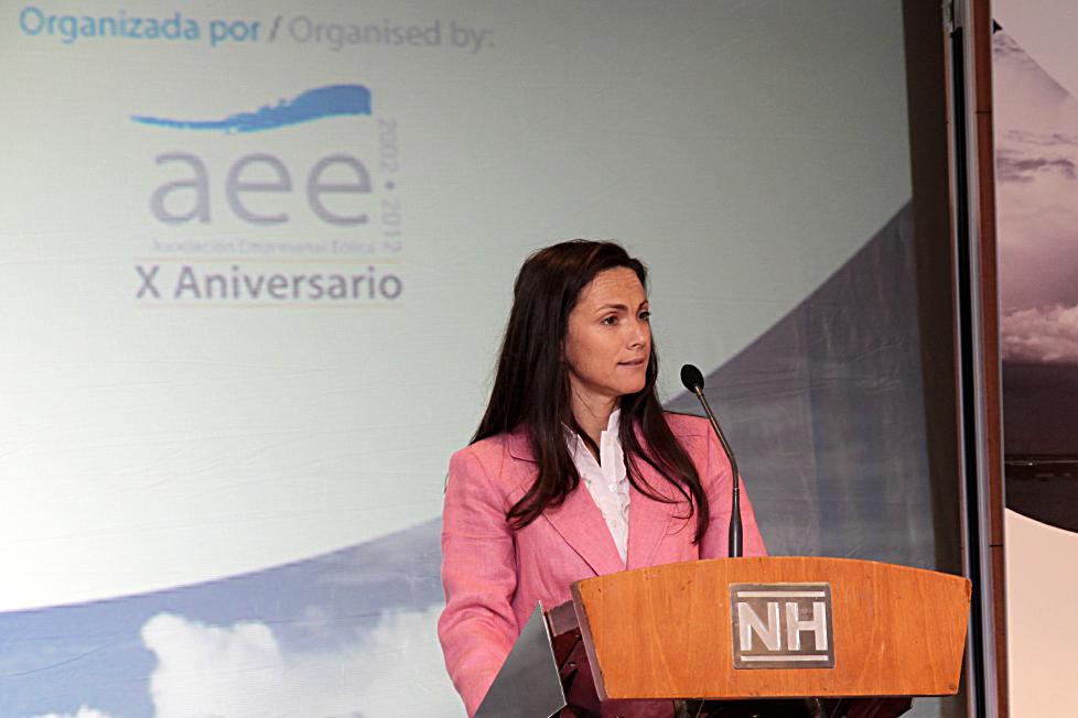 La  Asociación Empresarial Eólica (AEE) reunió a un grupo de emprendedores