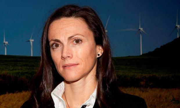 Rocío Sicre pide al Ejecutivo que reconsidere la tasa del 11% sobre la generación eólica