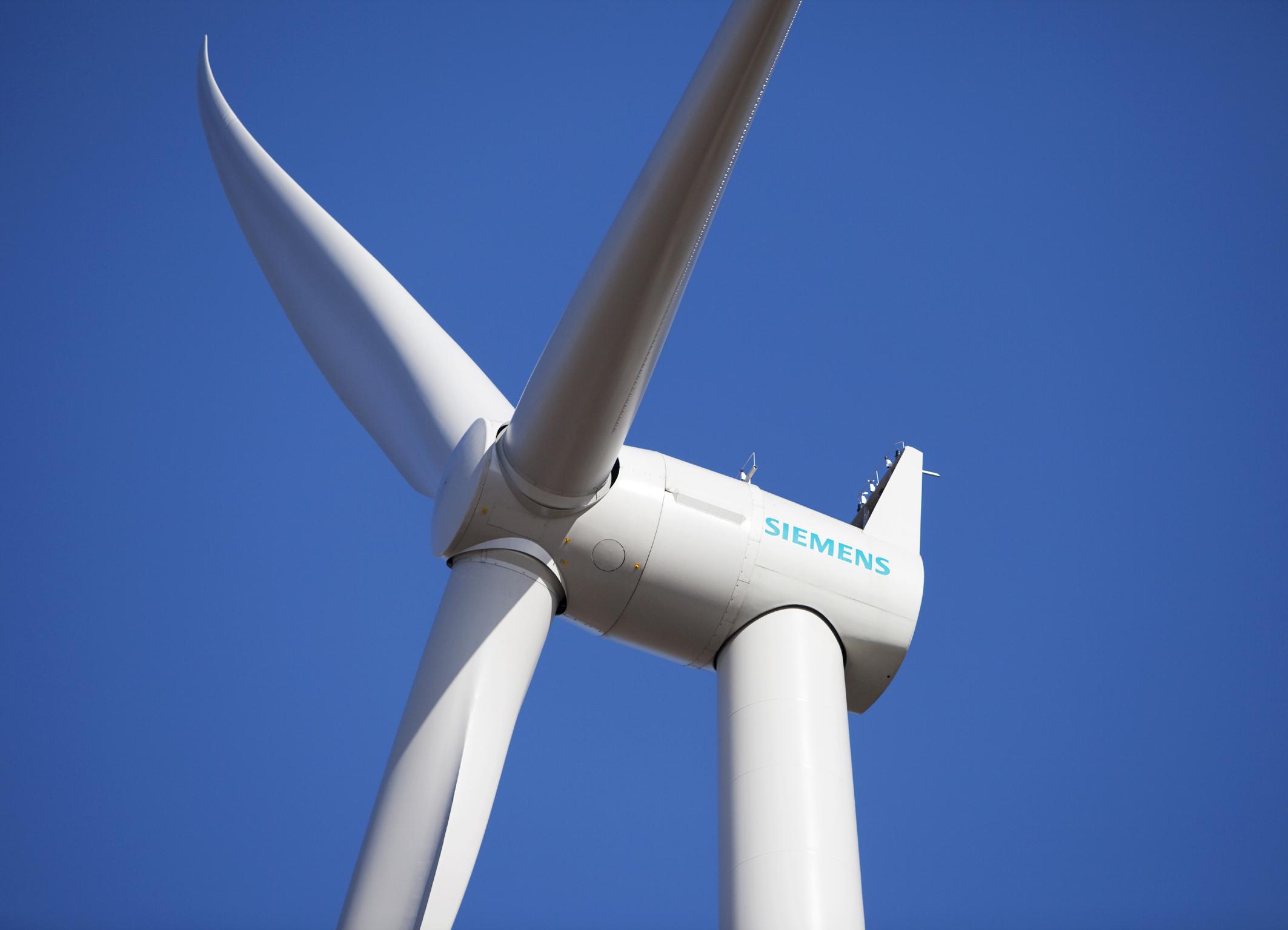 Siemens vende aerogeneradores por 270 MW de potencia eólica en Canadá