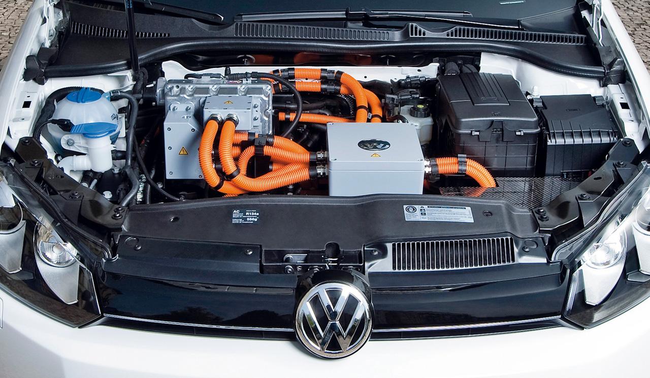 El coche eléctrico Volkswagen Golf Blue-e-Motion llega a Madrid