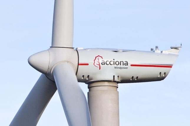 Eólica: Acciona, premiada por su emisión de bonos para financiar dos parques eólicos en México