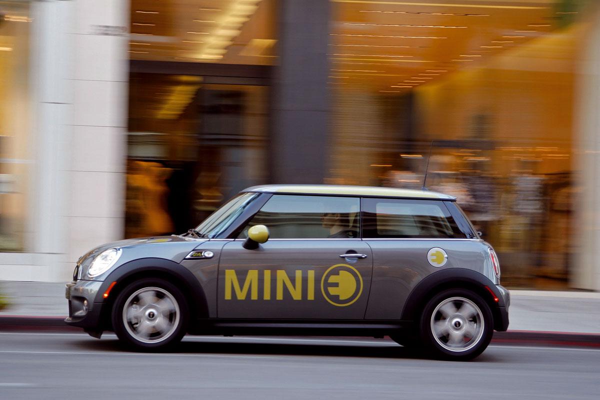 MINI agrega un nuevo coche eléctrico para los Juegos Olímpicos