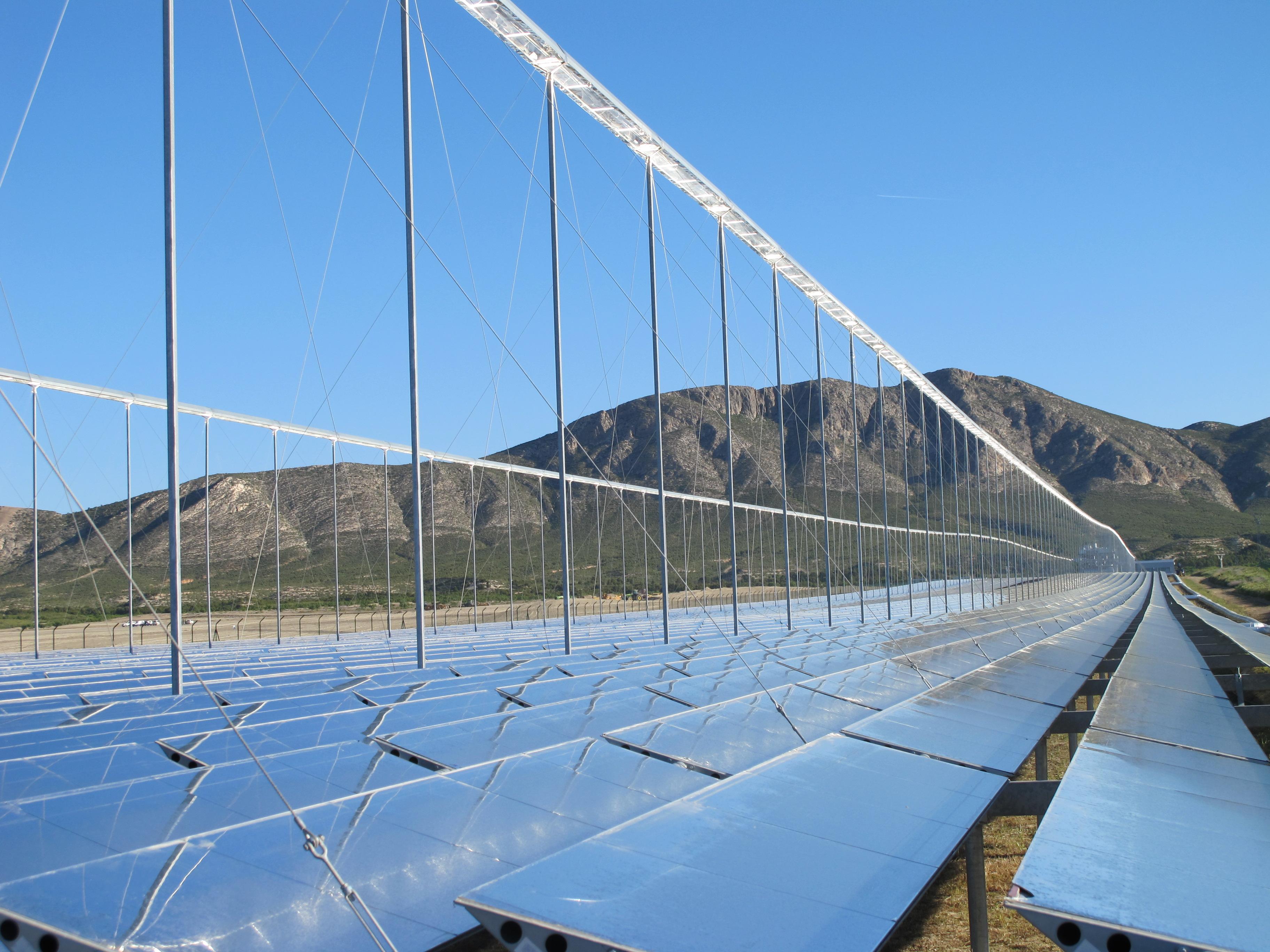 La central termosolar en Calasparra (provincia de Murcia) producirá 30 megavatios
