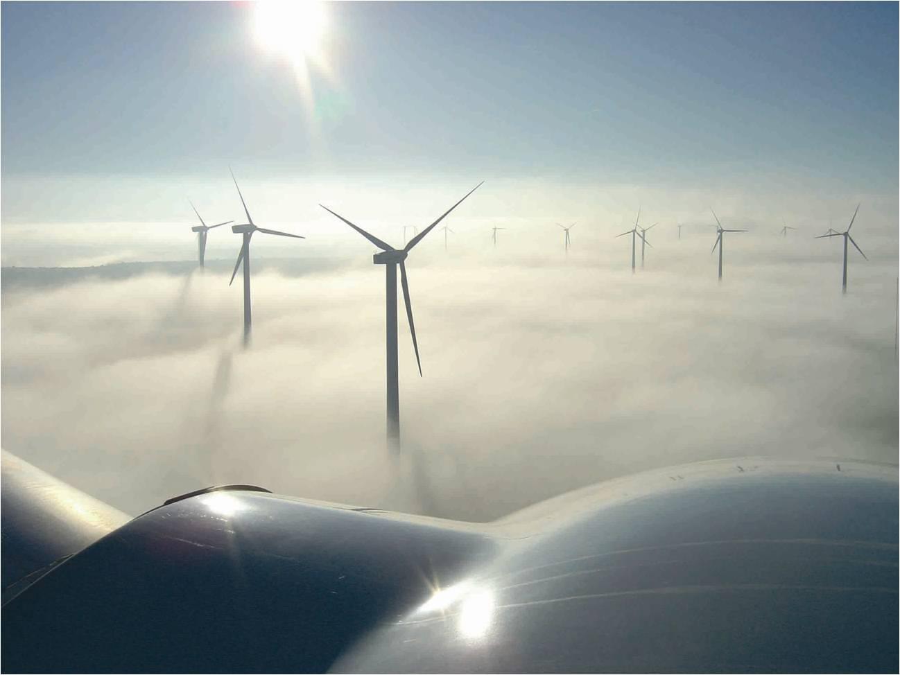 Gamesa Eólica construye con aerogeneradores de 4.5 MW un parque eólico