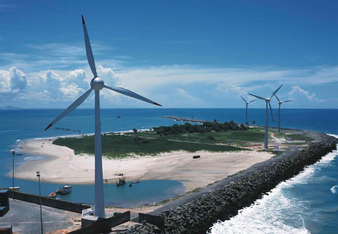 Brasil impulsa la energía eólica