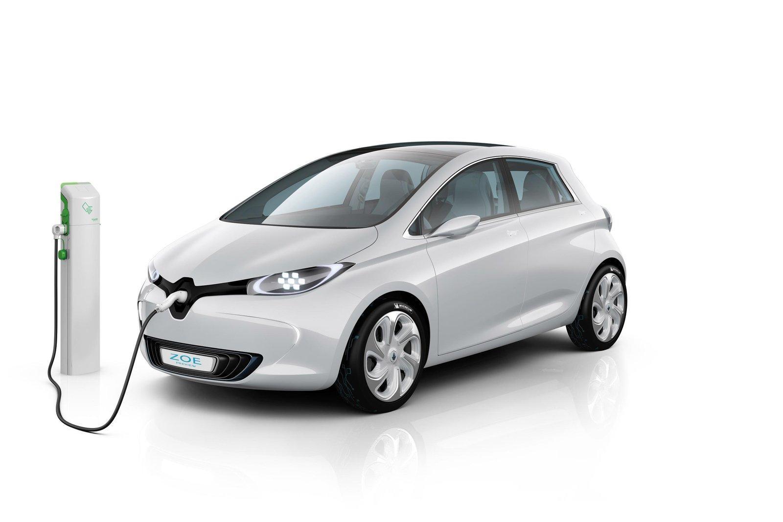El coche eléctrico Renault ZOE llegará a finales de 2012