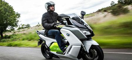 Vehículos eléctricos: moto eléctrica de BMW