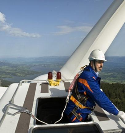 Eólica en Kansas: parque eólico de Enel Green Power con aerogeneradores de GE