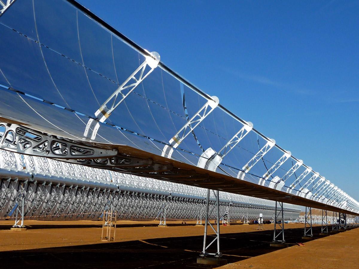 Energías renovables en Sudáfrica: Sener instala su primera termosolar