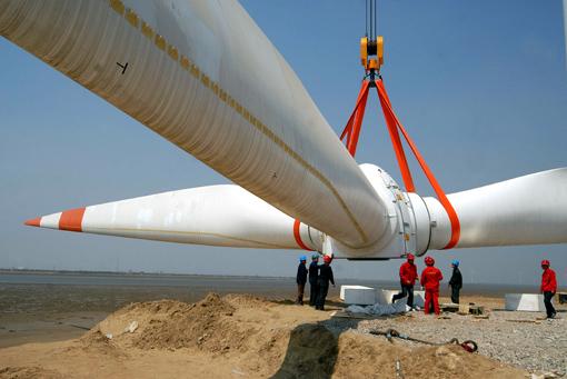 China utiliza más energías renovables (eólica, fotovoltaica y termosolar)