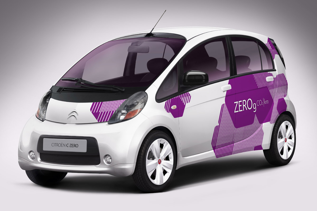El coche eléctrico Citroën C-Zero llega a la China