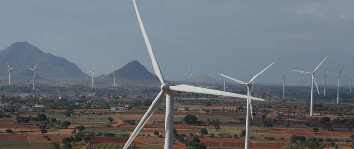 Eólica y energías renovables: Gamesa instalará 110 aerogeneradores en Madhya Pradesh, Rajastán y Karnataka