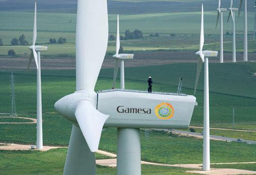 Gamesa eólica vende un parque eólico en Francia