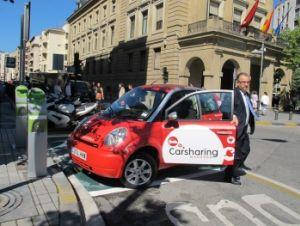 Los coches eléctricos en la semana internacional de la movilidad de Pamplona