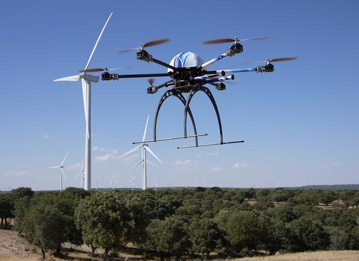 Eólica y energías renovables: nuevo sistema de inspección de palas de aerogeneradores