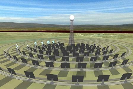 Andalucía desarrolla la primera central termosolar de geometría variable del mundo