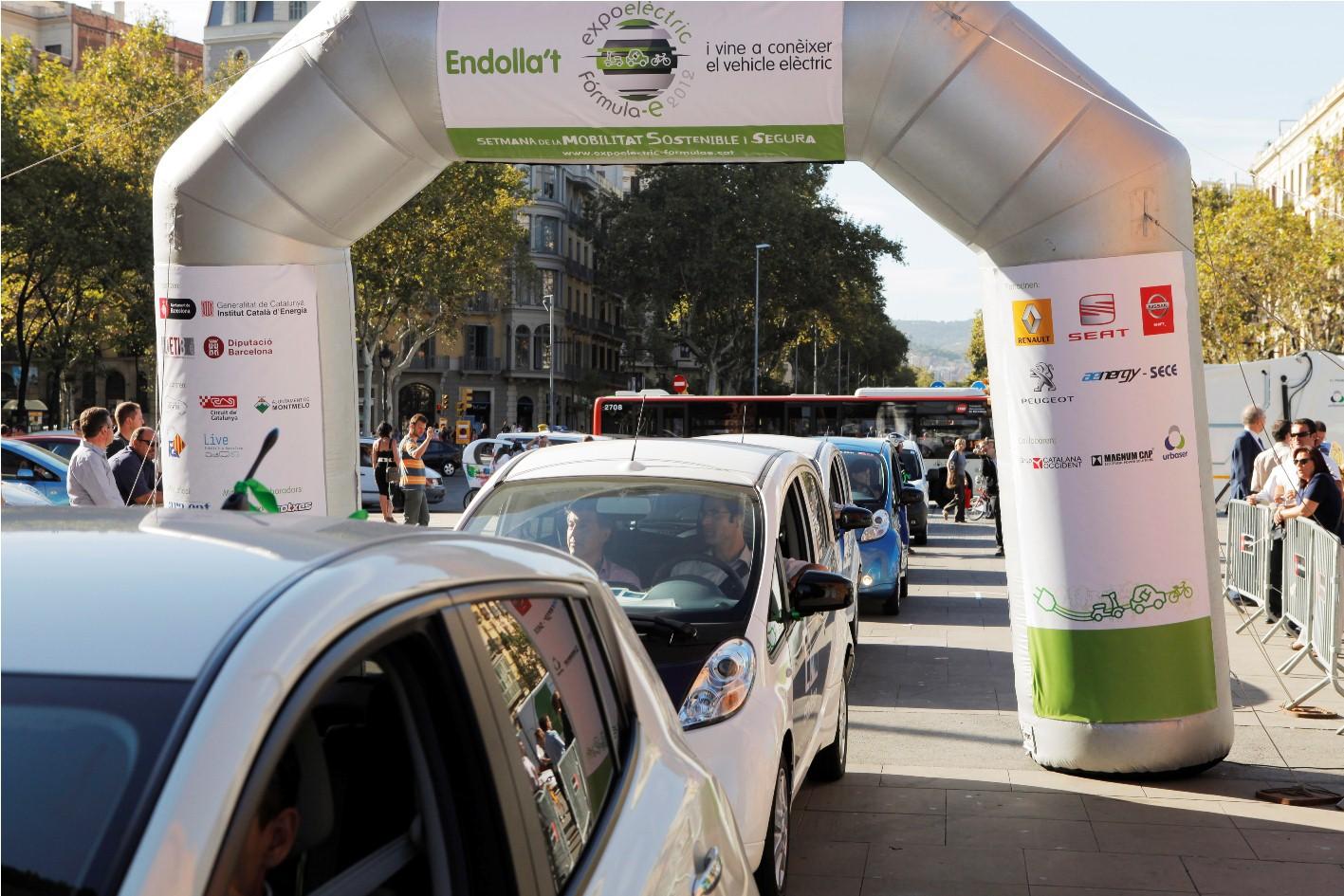 Barcelona, capital del vehículo eléctrico