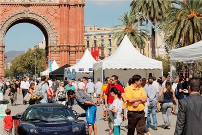 Barcelona se convierte en la capital del coche eléctrico