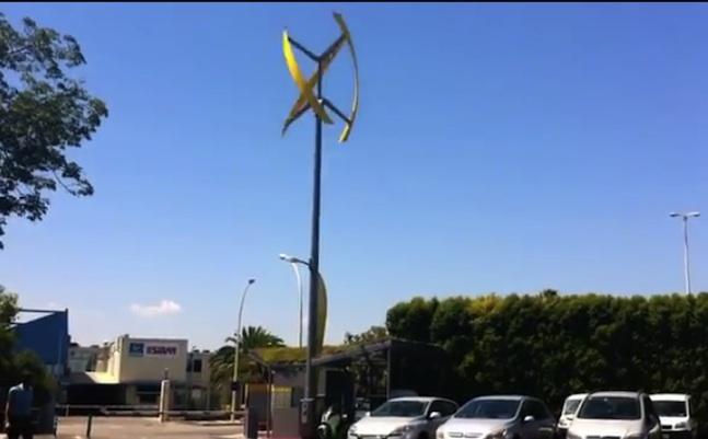 Urban Green Energy y GE anuncian la instalación de la primera estación eólica para vehículos eléctricos