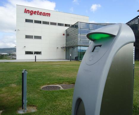 Ayerdi conoce las instalaciones de Ingeteam en Navarra