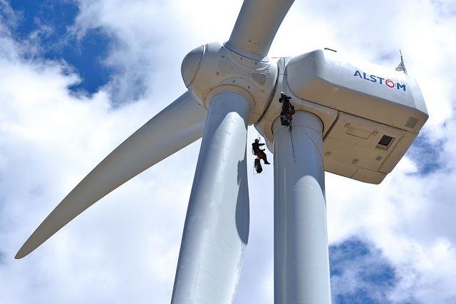Eólica: Iberdrola amplia su mayor complejo eólico con aerogeneradores de Alstom