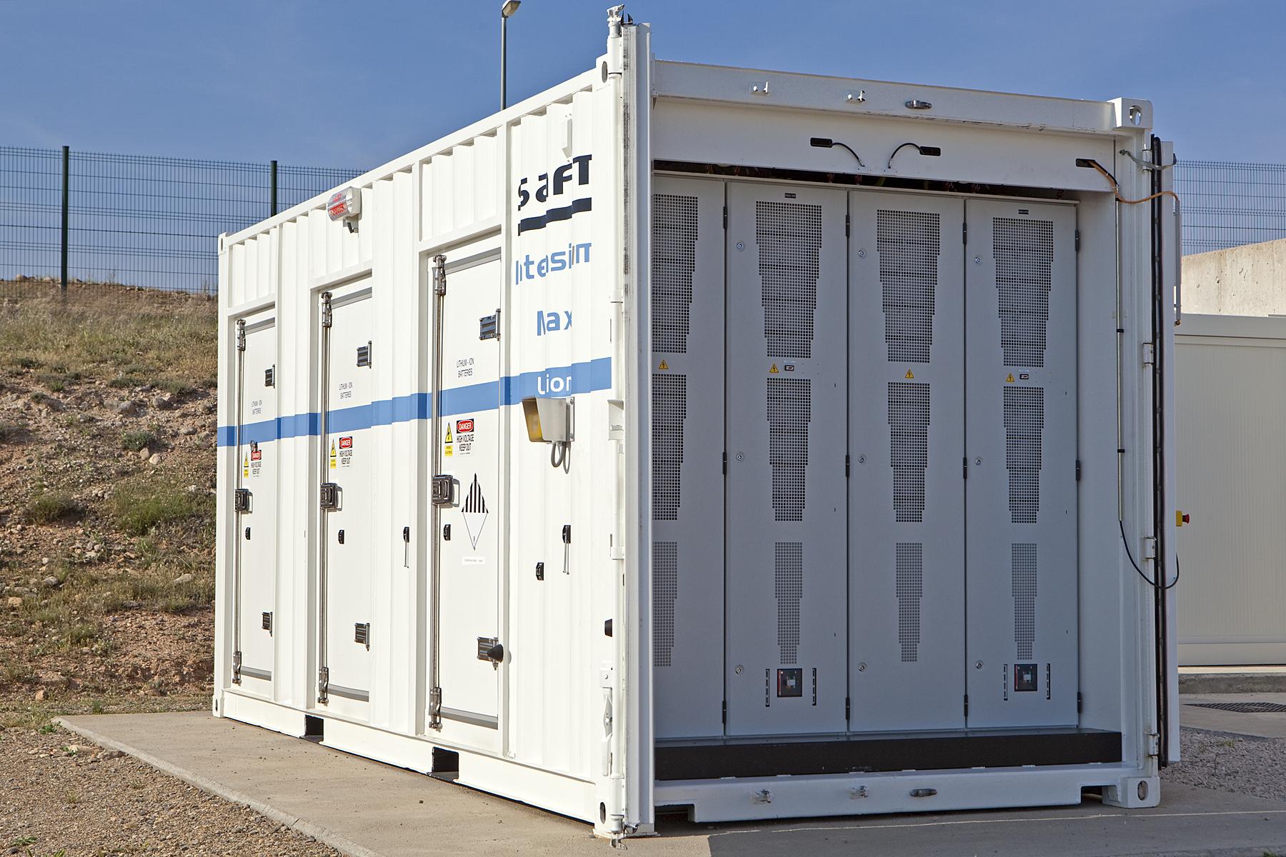 Acciona incorpora el almacenamiento de energías renovables