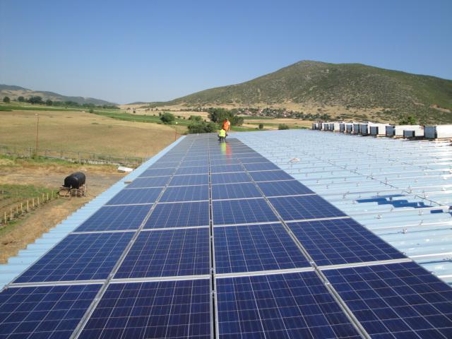 Conergy construye un sistema de energía solar fotovoltaica en Granada