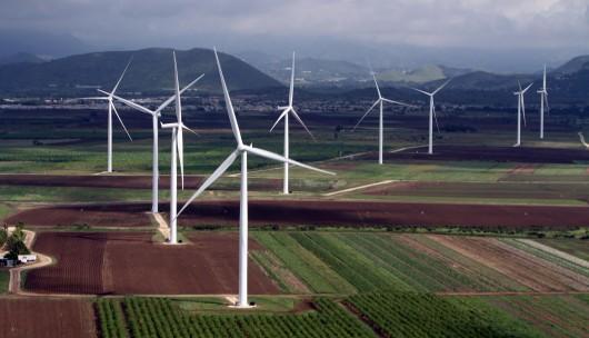 Aumenta 19% energía eólica instalada en 2012