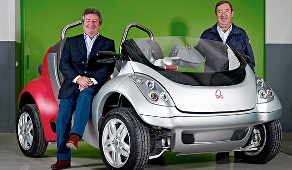 Un coche eléctrico destinado a espacios naturales protegidos