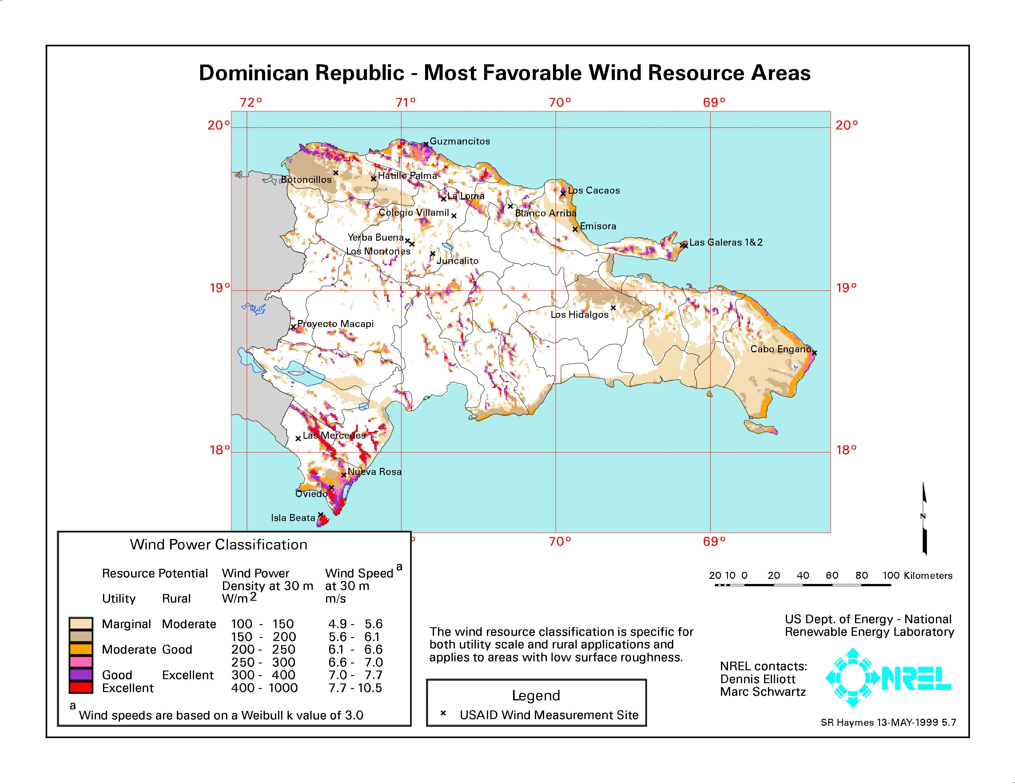 La eólica en República Dominicana