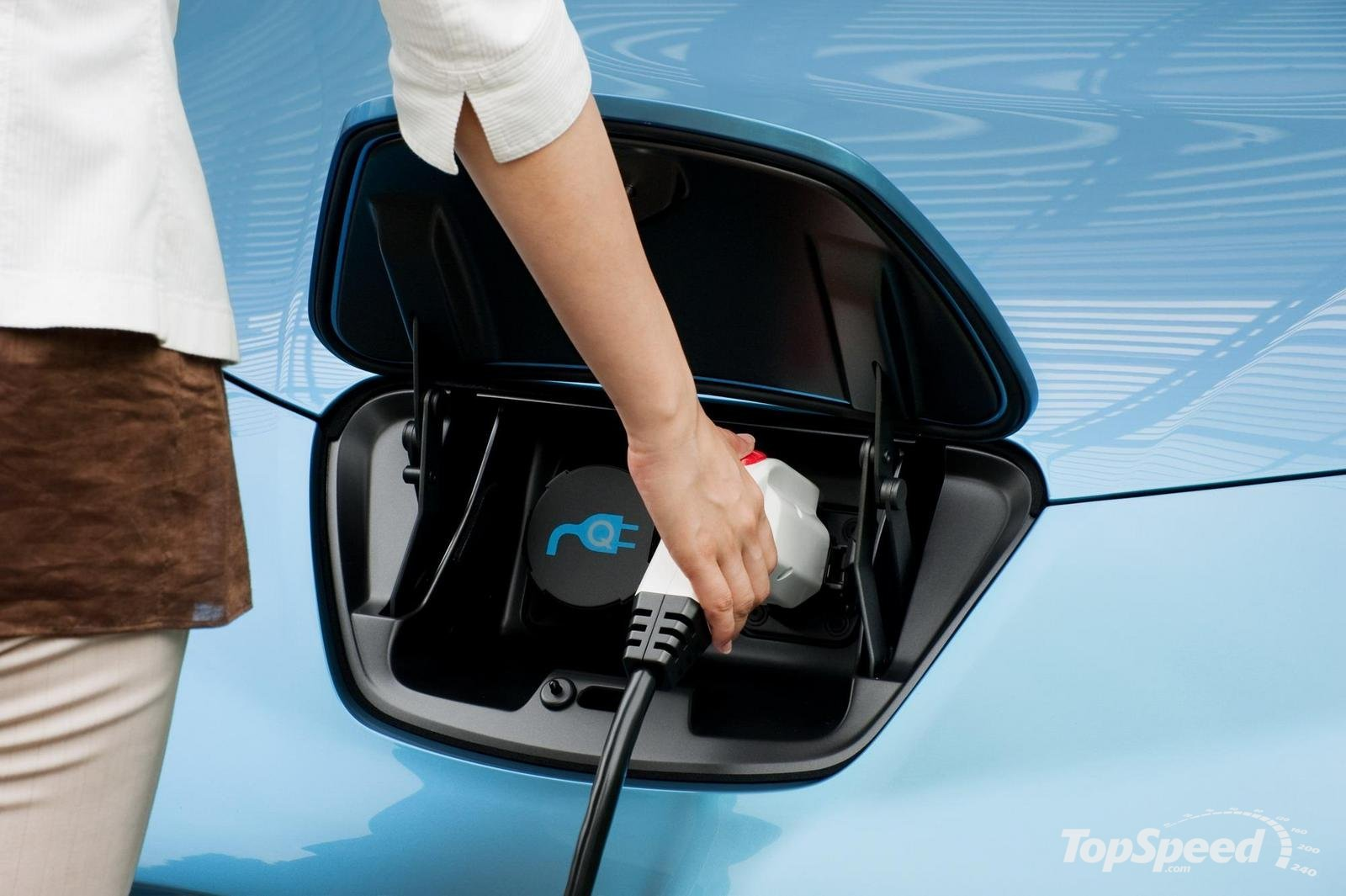 Vehículo eléctrico: coche eléctrico Nissan Leaf en México