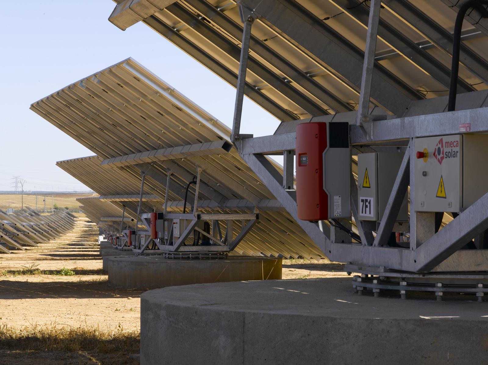 MECASOLAR suministrará seguidores para una central de energía solar fotovoltaica