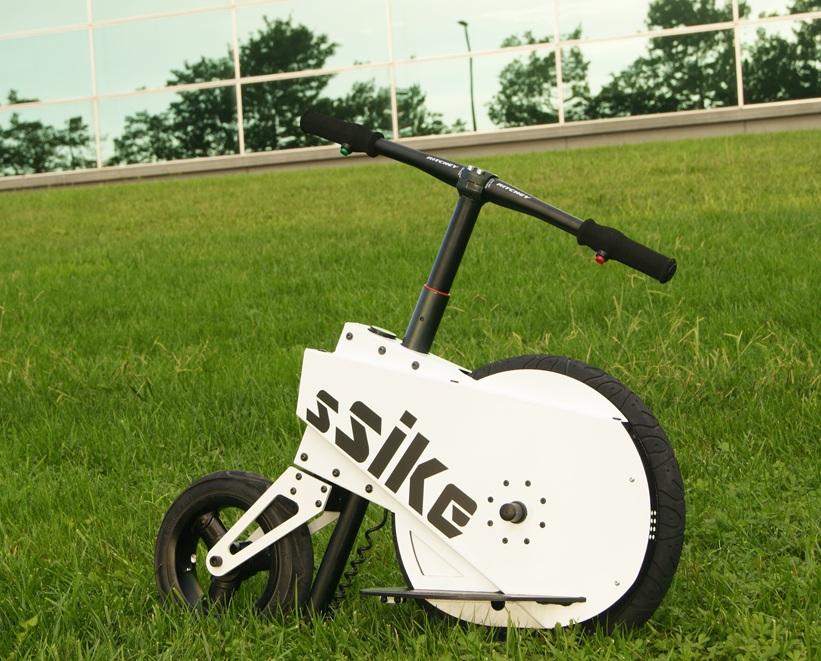 Nuevo concepto de bicicleta eléctrica urbana SSIKE