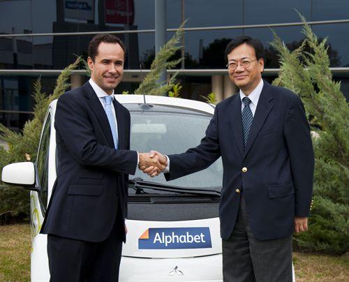 Alphabet, proveedor de coches eléctricos del proyecto ZEM2ALL